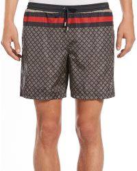 Gucci Diamante Swim Trunks - Lyst