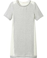Rebecca Taylor Chain Sweater Dress - Lyst