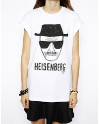 Asos T-shirt with Breaking Bad Heisenberg Print - Lyst