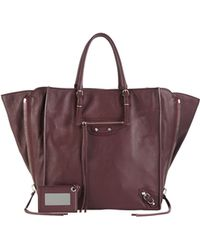 Balenciaga Papier A5 Zip Around Tote Bag - Lyst