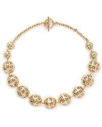 St. John - Disco Ball Necklace - Lyst