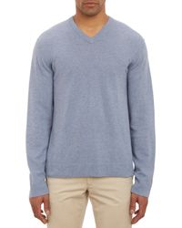 James Perse Cashmere Vneck Pullover Sweater - Lyst