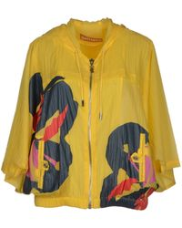 John Galliano Yellow Jacket - Lyst