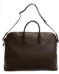 Valextra Mylogo Weekend Bag - Lyst