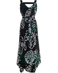 Vivienne Westwood Anglomania Tigris Cheese Plant-print Maxi Dress - Lyst