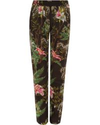 Etoile Isabel Marant Wilford Floral Printed Pant - Lyst