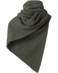 Christophe Lemaire - Ribbed Hem Scarf - Lyst