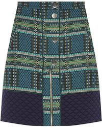 Matthew Williamson Tartan Blanket Mini Skirt - Lyst