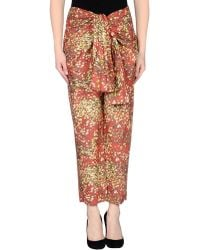 Cacharel Casual Trouser - Lyst