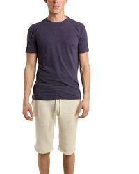 V::room Short Sleeve Pique T-Shirt In Navy - Lyst