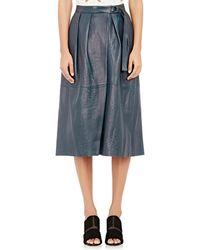Giada Forte - Women's Leather Wrap Skirt - Lyst