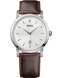 Hugo Boss Mens Ultra Slim Quartz Watch - Lyst