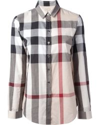 Burberry M Shirt - Lyst