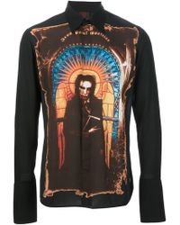 Jean Paul Gaultier Saint Jean Paul Print Shirt - Lyst