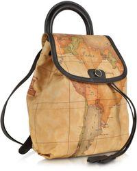 Alviero Martini 1A Classe - Geo Print Handle Soft Backpack - Lyst