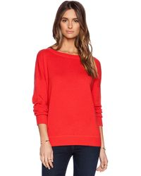 Vince Solid Rib Sweater - Lyst