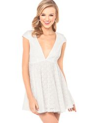 Jarlo Kira Dress in White - Lyst