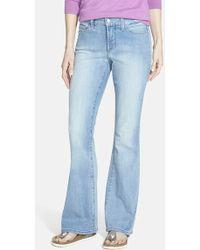 Nydj 'Farrah' Stretch Flare Leg Jeans - Lyst