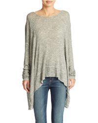 Free People Chasing You Shadow Hacci Top - Lyst