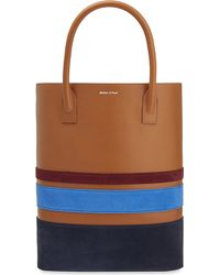 Mother Of Pearl - Pently Leather Shopper - Lyst