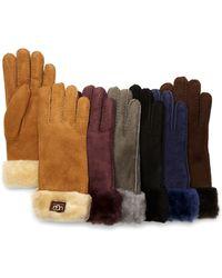 Ugg Ugg® Australia Classic Turn Cuff Gloves - Lyst
