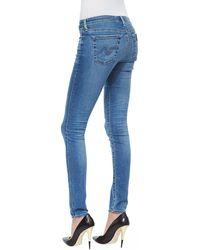 Ag Adriano Goldschmied 18 Year Heartbreaker Super Skinny Denim Leggings - Lyst