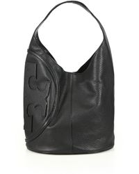 Tory Burch All-T Hobo Bag - Lyst