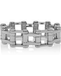 Balenciaga Bike Palladium-Tone Bracelet - Lyst