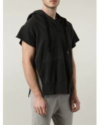 Bliss and Mischief - Short Sleeve Hoodie - Lyst