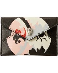 Alexander McQueen Envelope Card Holder - Lyst
