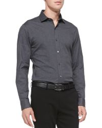 Ralph Lauren Black Label - Stretch-Poplin Button-Down Shirt - Lyst