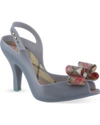 Melissa + Vivienne Westwood Anglomania Melissa + Vivienne Westwood Lady Dragon Bow Courts - Lyst