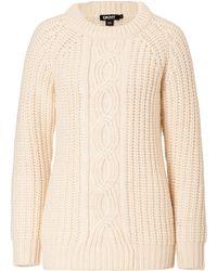 DKNY Chunky Knit Alpaca-wool Pullover - Lyst
