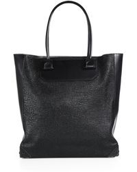Alexander Wang Prisma Embossed Leather Tote - Lyst
