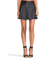 Love Leather - Legs Legs Legs Skirt in Black - Lyst