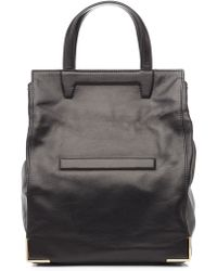 Alexander Wang Leather Lunch Bag Tote - Lyst
