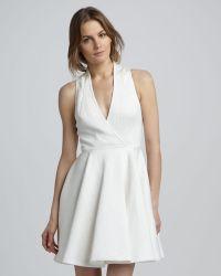 Rachel Zoe Caroline Faux Wrap Dress - Lyst