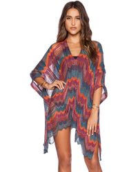 Goddis - Rory Poncho Dress - Lyst