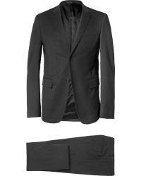 Jil Sander Grey Slim-Fit Wool-Blend Suit - Lyst