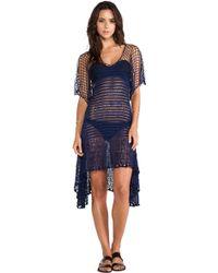 Lisa Maree A Path Less Traveled Crochet Butterfly Sleeve Kaftan - Lyst
