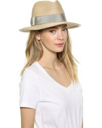 Eugenia Kim Lillian Hat - Sand - Lyst