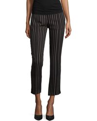 Haute Hippie   Slim-leg Striped Tuxedo Pants   Lyst