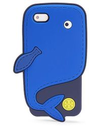 Tory Burch Whale Silicone Case For Iphone 5 - Lyst