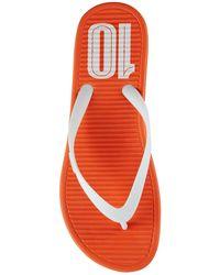 Nike Solarsoft Thong 2 Flip Flops - Lyst