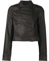Paige Black Fitted Jacket - Lyst