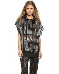 KTZ Sleeveless Sweatshirt - Black - Lyst