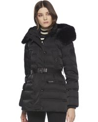 Gucci Furtrimmed Quilted Down Jacket - Lyst