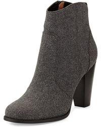 Joie Dalton Wool Ankle Boot - Lyst