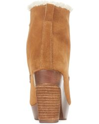 Denim & Supply Ralph Lauren - Carsyn Faux-Shearling Lace-Up Booties - Lyst