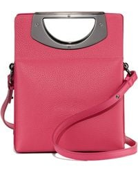 Christian Louboutin Mini Passage Leather Crossbody Bag - Lyst
